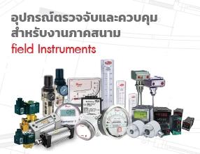 อุปกรณ์ตรวจจับและควบคุมสำหรับงานภาคสนาม (field Instruments)